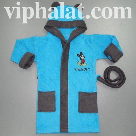 Детский эксклюзивный халат Микки Маус