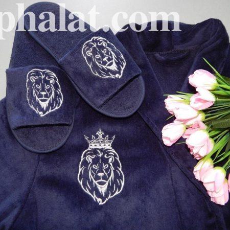 Именной текстиль комплект Король Лев