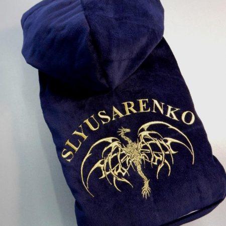 Эксклюзивный подарок халат Дракоша