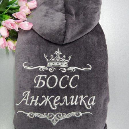 Домашний эксклюзив халат Вумен босс
