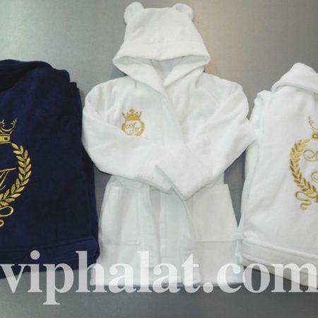 Набор домашних VIP халатов Королевская семья