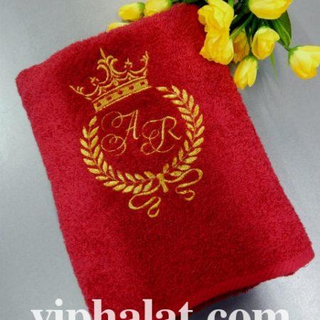 Эксклюзивное махровое VIP полотенце Королевское