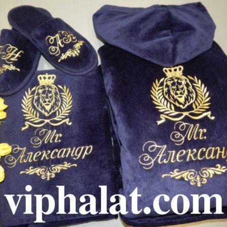 Банный VIP комплект Лавры Александра Великого