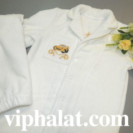 Детская махровая эксклюзив пижама Авто Круз