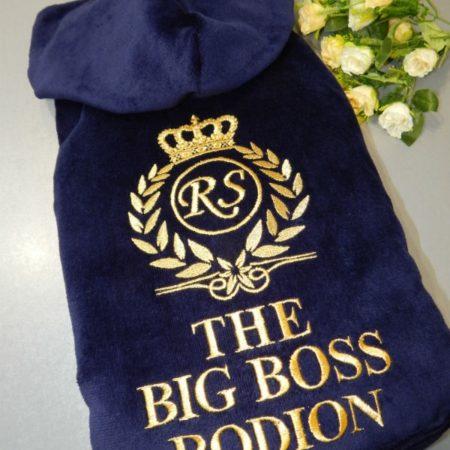 Банный мужской VIP халат BIG BOSS