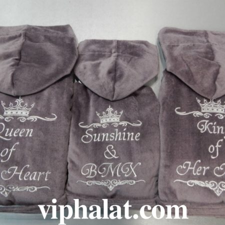 Набор семейных VIP халатов Царская семья