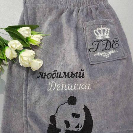 Мужская банная VIP юбка килт Панда