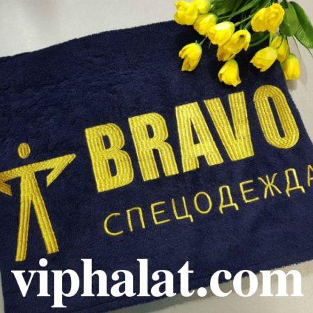 Эксклюзивное банное VIP полотенце Браво