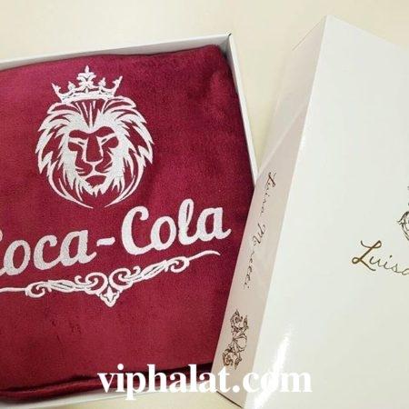 Банное VIP полотенце Кока-кола