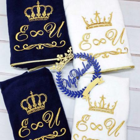 Набор махровых VIP полотенец Царские