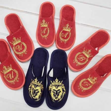 Махровые VIP тапочки Тёплые ножки