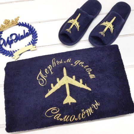 Банный VIP комплект Первым делом самолёты