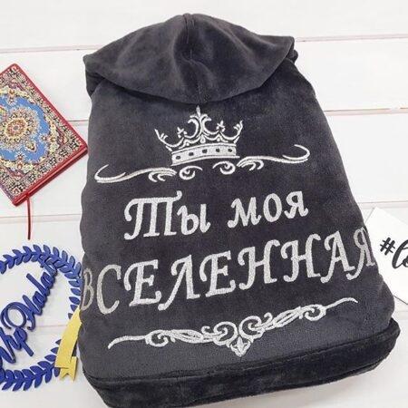Женский махровый VIP халат Мисс Вселенная