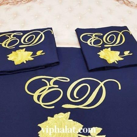 Постельный VIP комплект Золотая роза