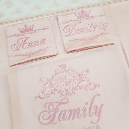 Постельное VIP бельё Семейные ценности