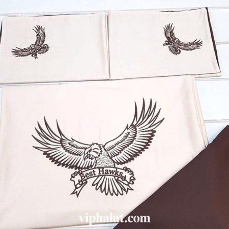 Комплект постельного белья из сатина Ястребы
