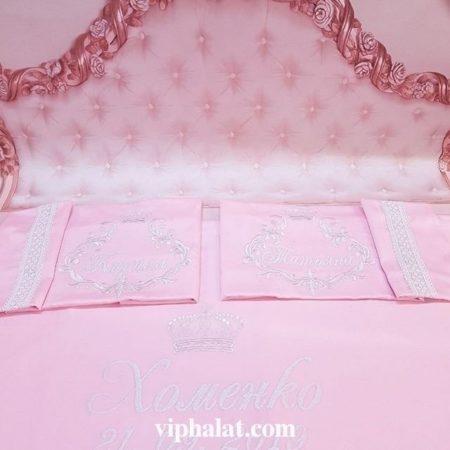 Постельное бельё из сатина Розовое танго