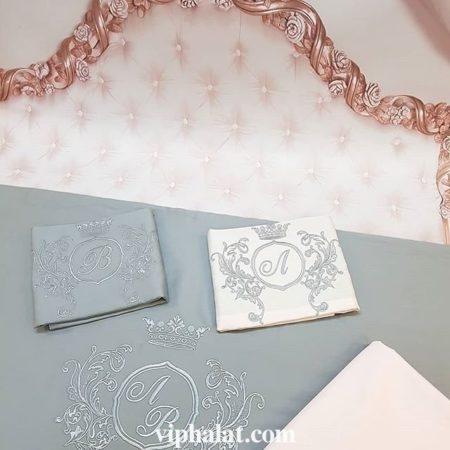 Комплект постельного белья Свадебный блюз