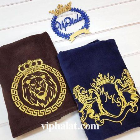 Махровые VIP полотенца с эксклюзив-вышивкой