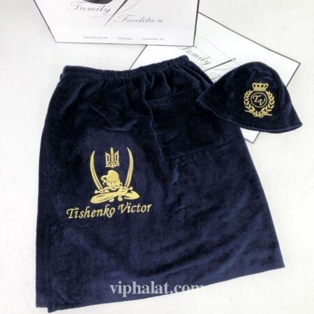 Банная юбка-килт Запорожский казак + панама