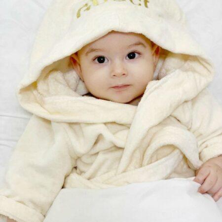 Детский махровый VIP халат Мой малыш