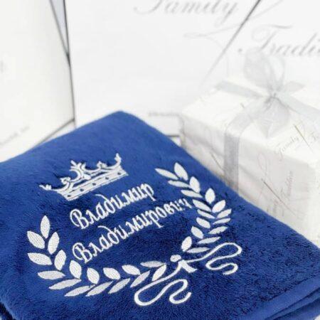 Банное VIP полотенце Королевский венец