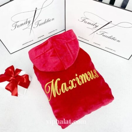 Банный махровый VIP халат Maximus