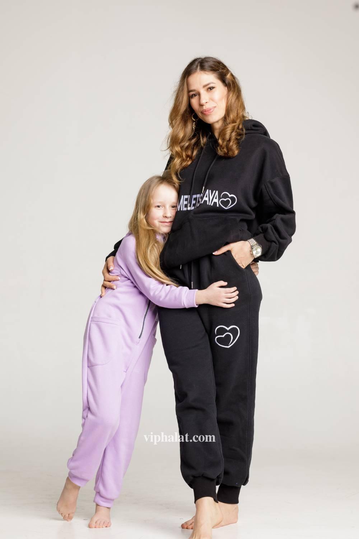 Комплект трикотажной одежды Мама и я